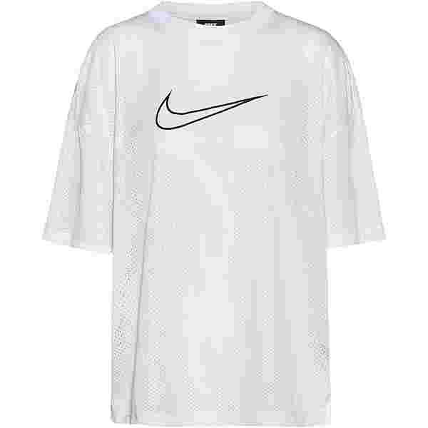 Nike NSW T-Shirt Damen white-black