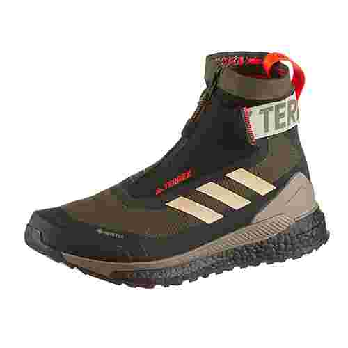 adidas GTX® FREE HIKER C Multifunktionsschuhe Herren feather grey-savannah-solar red