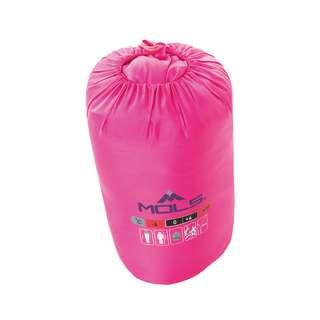 Mols Basbjerg Kunstfaserschlafsack 4001 Pink glo