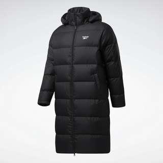 Reebok Core Long Down Jacket Outdoorjacke Herren Black / White