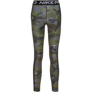 Nike Pro Tights Damen thunder grey-black-white