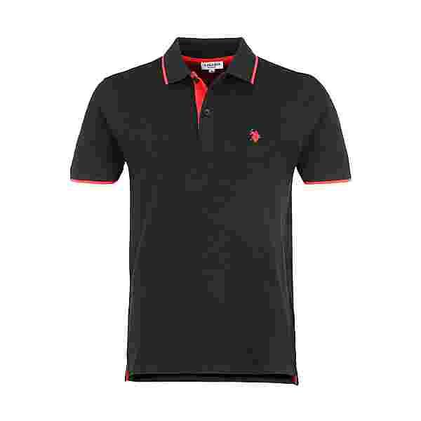 U.S. Polo Assn. Polo Poloshirt Herren black