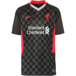 Nike FC Liverpool 20-21 3rd Trikot Kinder anthracite-black-laser crimson
