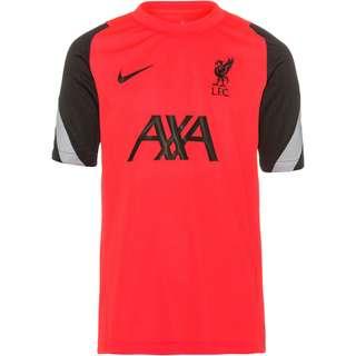 Nike FC Liverpool Funktionsshirt Kinder laser crimson-black-wolf grey-black