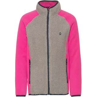 COLOR KIDS Fleecejacke Kinder rose violet