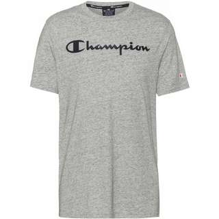 CHAMPION T-Shirt Herren new oxford grey melange yarn dyed