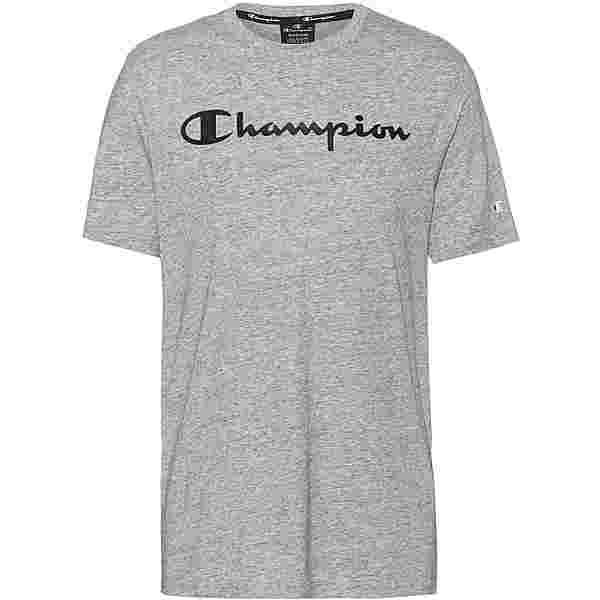 CHAMPION T-Shirt Herren new oxford grey melange yarn dyed