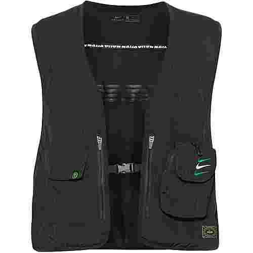 Nike Nigeria Kurzweste Herren black-pine green