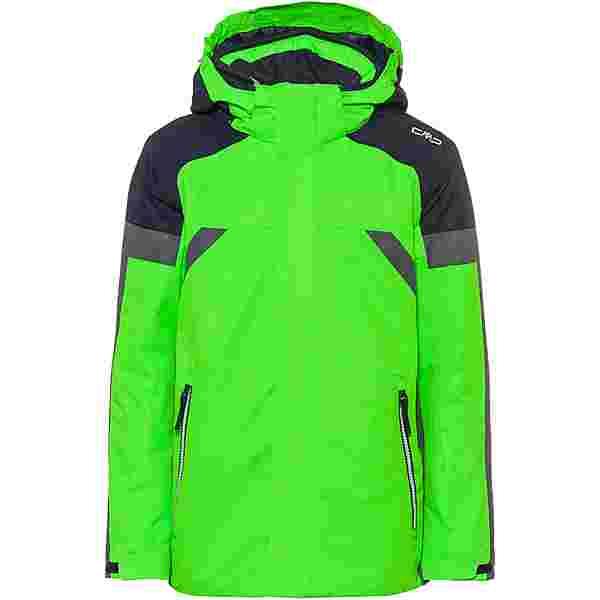 CMP Skijacke Kinder verde fluo