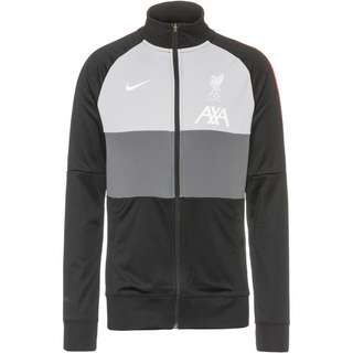 Nike FC Liverpool Trainingsjacke Herren black-dark grey-wolf grey-white