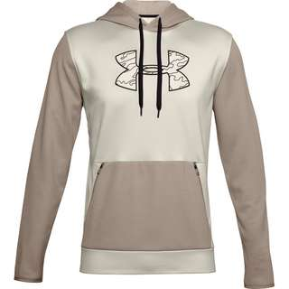 Under Armour Hoodie Herren summit white-black