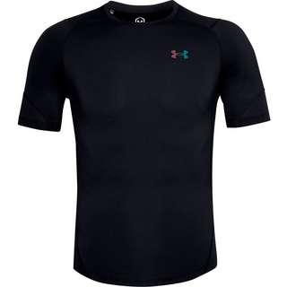 Under Armour Rush Kompressionsshirt Herren black-reflective