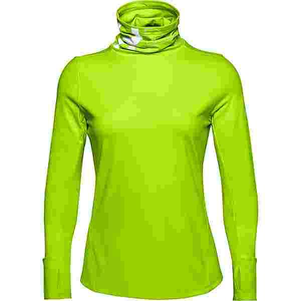 Under Armour ColdGear Funktionsshirt Damen green