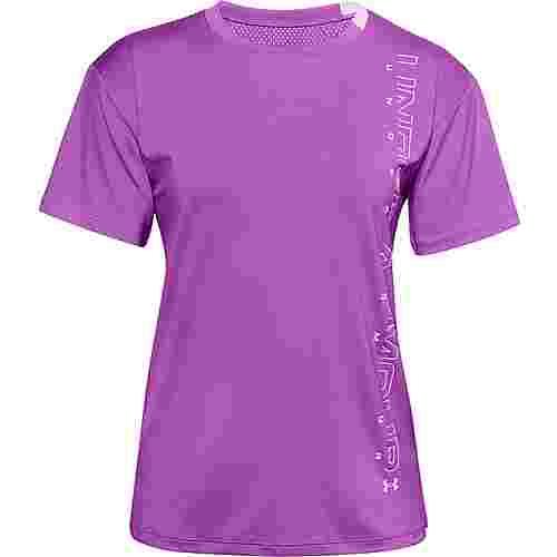 Under Armour Funktionsshirt Damen purple