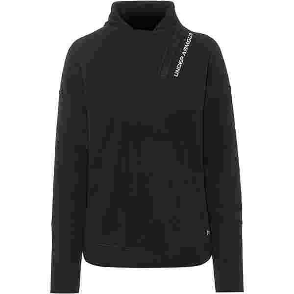 Under Armour Recover Funktionssweatshirt Damen black