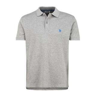 U.S. Polo Assn. Polo Poloshirt Herren grey melange