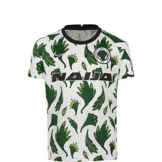 Nike Nigeria Dry T-Shirt Kinder weiß / grün