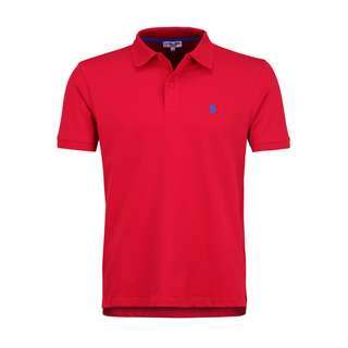 U.S. Polo Assn. Polo Poloshirt Herren red