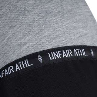 Unfair Athletics Hash Panel T-Shirt Herren schwarz / hellgrau