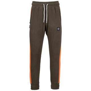 Unfair Athletics DMWU Patch Fleece Trainingshose Herren oliv / orange