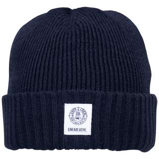 Unfair Athletics DMWU Patch Beanie Herren dunkelblau / weiß
