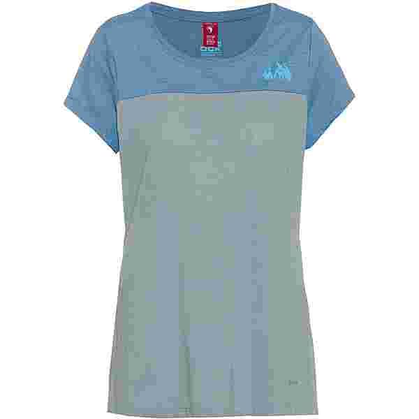 OCK T-Shirt Damen eisblau
