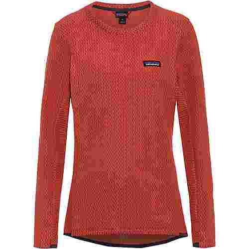 Patagonia R1 Air Funktionsshirt Damen spanish red