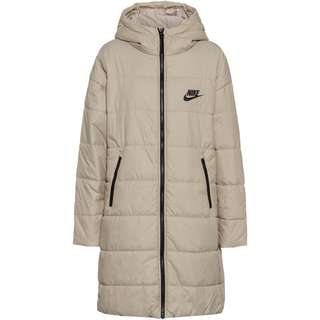 Nike NSW Core Steppmantel Damen stone-white-black