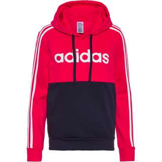 adidas Hoodie Damen power pink-white