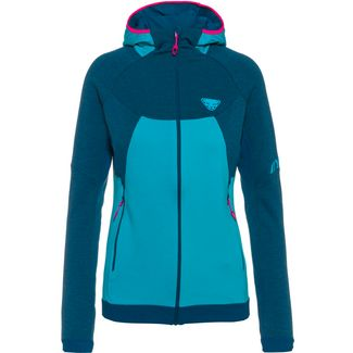Dynafit Merino TOUR WOOL THERMAL Fleecejacke Damen petrol