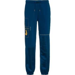 Nike NSW Sweathose Damen valerian blue-deep ocean-metallic gold