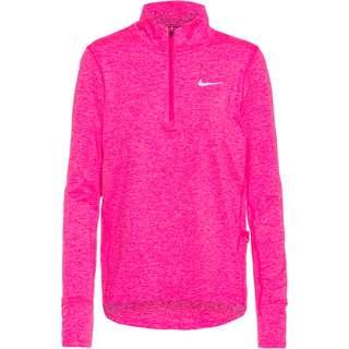 Nike Element Funktionsshirt Damen hyper pink-pink glow-htr-reflectiv silv