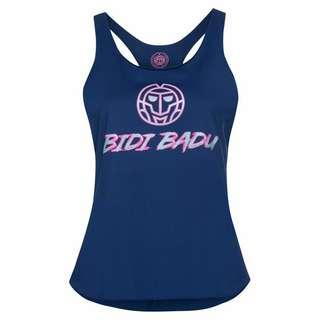 BIDI BADU Heba Basic Logo Tank Tennisshirt Damen dunkelblau