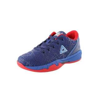 Peak Delly1 Down Under Basketballschuhe Kinder Blau-Rot