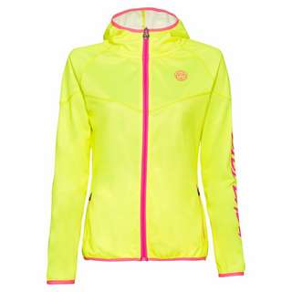 BIDI BADU Grace Tech Jacket Funktionsjacke Kinder neongelb/pink