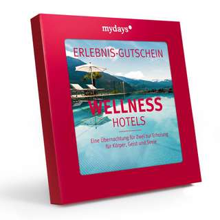 mydays Wellnesshotels Geschenkbox bunt