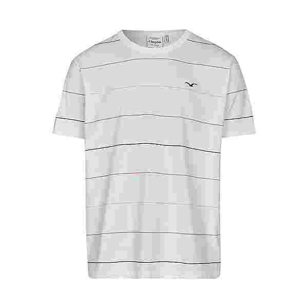 Cleptomanicx Multi Stripe Printshirt Herren White