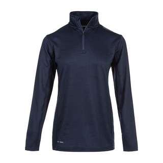 Endurance NIAGA WAFFLE Langarmshirt Damen 2101 Dark Sapphire