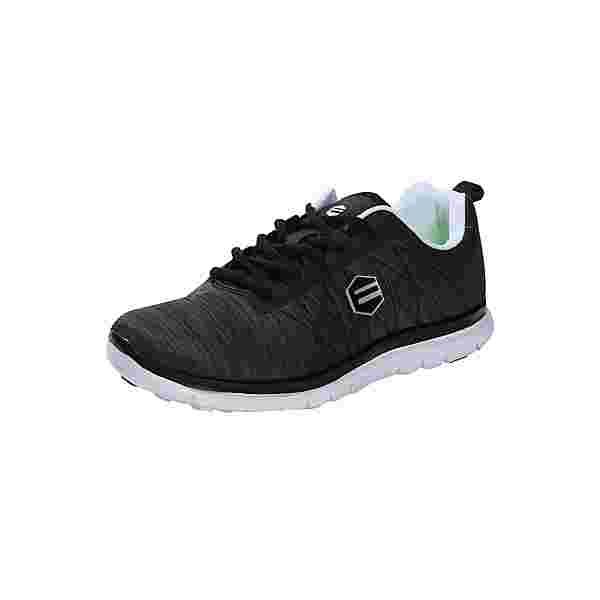 Endurance E-Light V8 Fitnessschuhe Damen schwarz-weiß