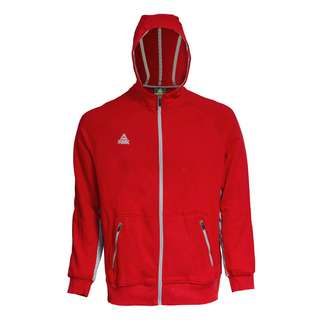 Peak Zip Hoody Sweatjacke Herren red