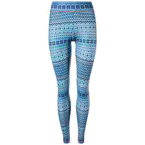 Endurance Forget-Me-Not Printed Tights Damen Print 9510