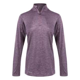 Endurance NIAGA WAFFLE Langarmshirt Damen 4150 Purple Grape