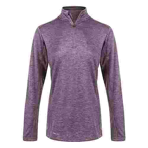 Endurance NIAGA WAFFLE Langarmshirt Damen 4150 Purple Grape