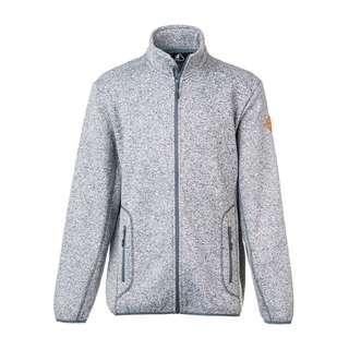 Whistler Sampton M Melange Fleece Jacket Fleecejacke Herren 1005 Light Grey Melange