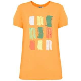 Finn Flare Printshirt Damen marigold