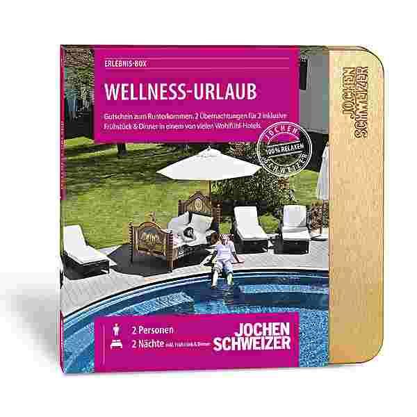 Jochen Schweizer Wellness-Urlaub für 2 Geschenkbox mehrfarbig