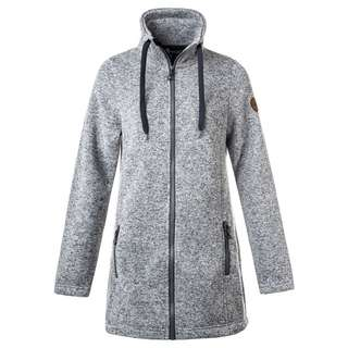 Weather Report LILIANA LONG Fleecejacke Damen 563 Lt. Grey Melange