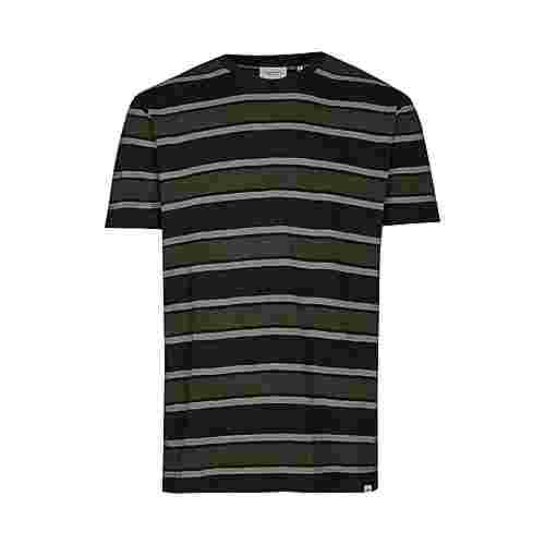 Cleptomanicx Those Days Printshirt Herren Phantom Black