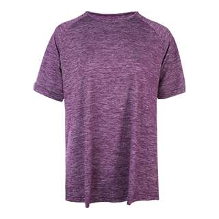 Endurance Pasew Melange Funktionsshirt Damen 4105 Deep Purple