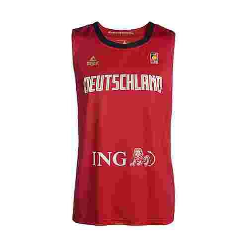 Peak Basketballtrikot Herren Rot